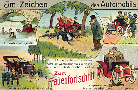 Frauen Emanzipation 1908 2013 - KoKa Augsburg